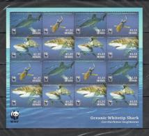 UU242 2014 GRENADA WWF OCEANIC WHITETIP SHARK SH + KB