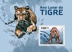 GUINE BISSAU 2010 SHEET YEAR OF THE TIGER AÑO DEL TIGRE ANNEE DU TIGRE Gb10515b - Guinea-Bissau