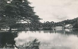CEYLON - N° 26 - KANDY LAKE WITH GLIMPSE OF TEMPLE THE TOOTH - Sri Lanka (Ceylon)