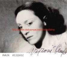 Dunja Vejzovic Opera - Autogramme