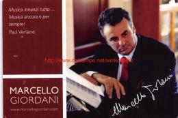 Marcello Giordani - Opéra