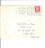 Algerie  Flamme   Batna Aures  Ville Antique   Timgad -lambes - 1921-1960: Modern Period