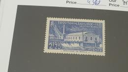 LOT 354559 TIMBRE DE FRANCE NEUF**  N°430 VALEUR 37 EUROS