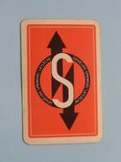 """Genièvre SPRINGUEL """" La Flèche """" S / Ruiten 5 ( Zie Foto´s Voor En Achter ) ! - Playing Cards (classic)"""