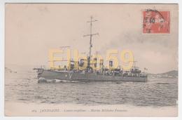 Marine Nationale, Contre-torpilleur Janissaire, écrite - Guerra