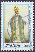 Timbre Oblitéré N° 1450(Michel) Rwanda 1992 - Anniversaire De La Mort Du Cardinal Lavigerie