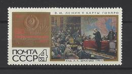 RUSSIE . YT 3658 Neuf ** 50 Ans Du Plan Lénine GOELRO. Plan D'Etat D'électrification De La Russie 1970