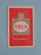 EKLA Super Pils Vandenheuvel / Ruiten 10 ( Zie Foto´s Voor En Achter ) ! - Barajas De Naipe