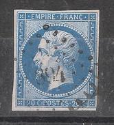 Empire N° 14 B Obl Pc 894 De CLUNY, Saone Et Loire, Belle Frappe, TB