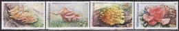 THAILAND 2001 MNH ** 2066-2069  MUSHROOMS, FUNGI