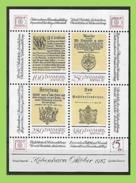 Denmark, 1985  Mi 830-833 BLOCK 4** MNH Postfrisch