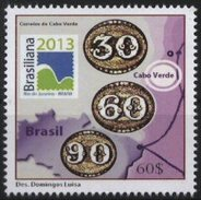 CAPE VERDE, 2013, BRASILIANA, 1 V.., MNH - Kap Verde