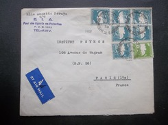Palestine: 1938 Air Cover To France (#DQ9) - Palestine