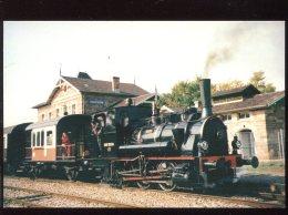 CPM Neuve 67 Ligne MARCKOLSHEIM - VOLGELSHEIM Locomotive 030 TB 134 Théodor - Frankreich