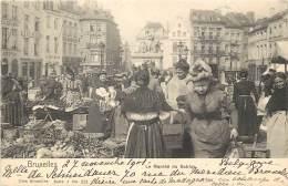 Bruxelles - Le Marché Du Sablon - Nels Série 1 N° 221 - Marchés