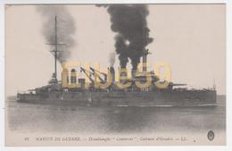 Marine Nationale, Cuirassé D'Escadre Type Dreadnought Condorcet, écrite - Guerra