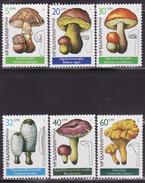 BULGARIA 1987  MNH **  3546-3551  MUSHROOMS, FUNGI