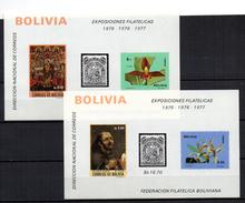 3 Hb De Bolivia - Bolivia