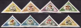 POLAND  1959  MNH **  1093-1100  MUSHROOMS, FUNGI