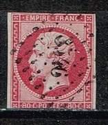 Frankreich 1853, Michel # 16 O