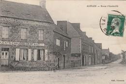 CP  53  ALEXAIN    Route  D' Andouillè  ( Magasin  Quentin Chaussin  Dèbitant )  - Village 610 Habitants - Autres Communes
