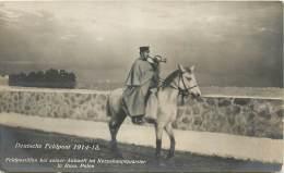 Carte-Photo - Deutsche Feldpost 1914-15 - Feldpostillon In Russ, Polen - Guerre 1914-18