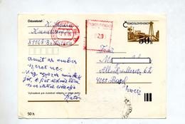 Carte Postale Reservoir Eau Surcharge Machine Bratislava   ? Oté