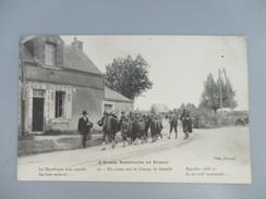 CPA WW1 GUERRE 1914-18 ARMEE AMERICAINE EN FRANCE EN ROUTE VERS LE CHAMP DE BATAILLE - Guerre 1914-18