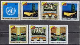 Bhutan - Mi-Nr 473/479 Gestempelt / Used (a383a)