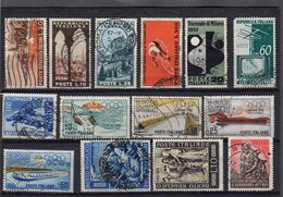 LOT OF 38 USED STAMPS ALTO VALORE CATALOGO SEE 3 SCANS