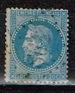Frankreich 1862, Michel # 26 + 31 O - 1863-1870 Napoléon III. Laure