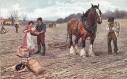 Deux Cartes Edit. R. Tuck - Rural Life - Vie Rurale - Autres