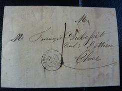 Lot Du 23.05.17._II_LAC  De Thiers   De 1844 A Voir! Taxe 10 Decimes - Marcophilie (Lettres)