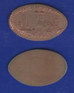 Souvenir Token Germany Munchen Olympia Park Moneta Allungata - Souvenirmunten (elongated Coins)
