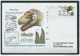 "SPAIN*Zhuchengtyrannus Magnus Dinosaur/Meaning: ""Zhucheng Tyrant""/Late Cretaceous Period/Animalia/Dinosauri A/Reptilia"