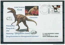 SPAIN*Yangchuanosaurus Shangyouensis Dinosaur/Meaning: Yangchuan Lizard/China ; ; ; ; -