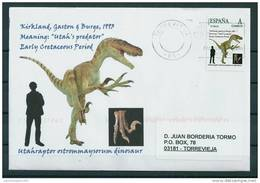 SPAIN*Utahraptor Ostrommaysorum Dinosaur/Meaning: Utah´s Predator/Early Cretaceous Period/Dinosaurs/Prehisto Ric Animals