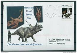 SPAIN*Diabloceratops Eatoni Dinosaur/Meaning: Devil Horned Face/Upper Cretaceous Period/Dinosaurs/Prehisto Ric Animals