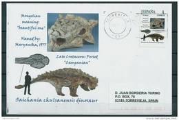 "SPAIN*Saichania Chulsanensis Dinosaur/Mongolian Meaning ""beautiful One""/Mongolia, Nemegt Basin R"