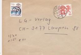 Brief Von Thalwil Nach Laupen, Austaxiert (br1089) - Schweiz