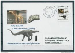 SPAIN*Ampelosaurus Sauropod Dinosaur/Vine Lizard/Late Cretaceous/Dinosaurs/Dino /Reptilia/Prehistoric Animals