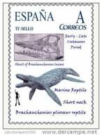SPAIN*Brachauchenius Pliosaur Reptile/Short Neck/Early-Late Cretaceous Period/Animalia/Reptilia