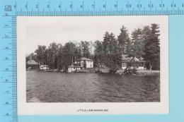 Magog  Quebec - Photo Reel, Chalets, Petit Lake Magog 1926-1940 - 2 Scans - Non Classés