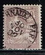 Frankreich 1902, Michel # 104 O - France
