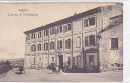 CARD VELLETRI CASERMA DI S. FRANCESCO MILITARI IN DIVISA (ROMA)  -FP-N-2-0882-27285 - Velletri