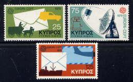 CHYPRE - 496/498** - EUROPA / HISTOIRE DES POSTES