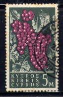 CHYPRE - 195° - GRAPPES DE RAISIN - Zypern (...-1960)