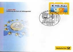 ALLEMAGNE     FDC 2002 Euro Monnaie - Münzen