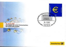 ALLEMAGNE     FDC 2002 Euro Monnaie