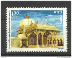 INDIA, 1989, Dargah Sharif Ajmer ,  Islam, Religion, Architecture, MNH, (**)
